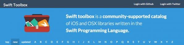 Dein Katalog für Swift. (Screenshot: swifttoolbox.io)