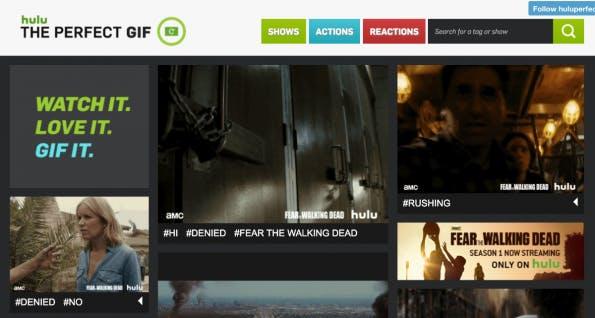 hulu the perfect gif. (Screenshot: huluperfectgif.tumblr.com)