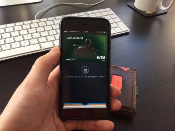 Apple Pay kann sofort genutzt werden (Foto: Maik Klotz)
