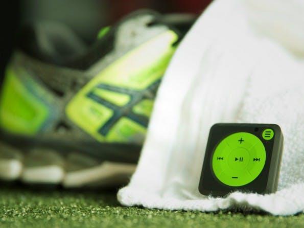 Mighty: iPod-Shuffle-Klon bringt dir Spotify auf die Laufstrecke –ohne WLAN und Smartphone. (Bild: Kickstarter/Mighty Audio)