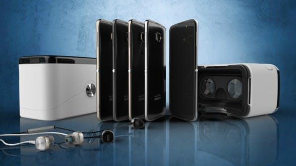 Smartphone-Verpackung: Das Alcatel Idol 4S wird in einem Cardboard verkauft. (Foto: Evan Blass/Alcatel)