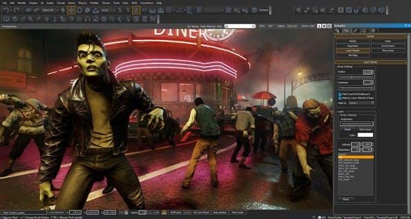 Zombies: Zumindest in der Lumberjack-Engine können sie zum Leben erweckt werden. (Bild: Amazon)