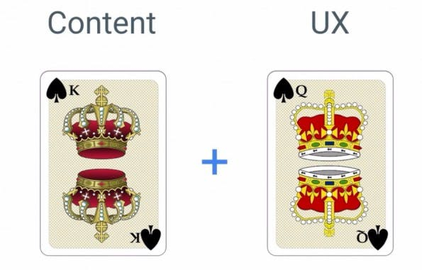 AMP: Content is King, User-Experience ist Queen. (Screenshot: Google)