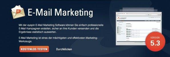 E-Mail-Marketing eyepin.