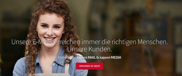 E-Mail-Marketing von Kajomi.