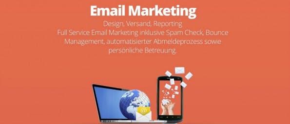 E-Mail-Marketing von Orange Marketing.