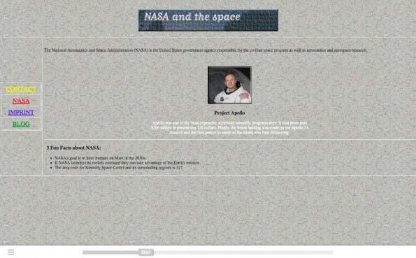 Webdesign: Seit den 1990er Jahren hat sich einiges getan. (Screenshot: fabianburghardt.de/webolution/)