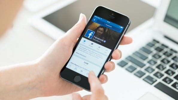 Facebook-Marketer können bald auch Offline-Shopping-Verhalten analysieren. (Foto: Bloomua / Shutterstock.com)