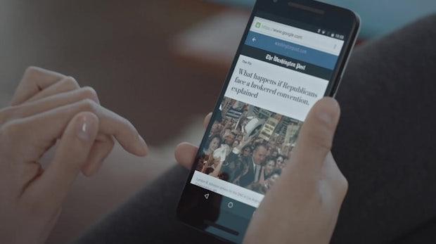 Schnelle Werbung für AMP: Google startet AMP-Ads