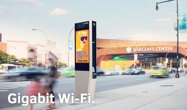 Sidewalk Labs: LinkNYC verspricht schnelles kostenloses WLAN für New York (Bild: LINKNYC)
