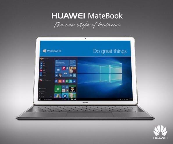 Für das Huawei MateBook werden mindestens 799 Euro fällig – ohne Tastatur. (Quelle: Huawei)
