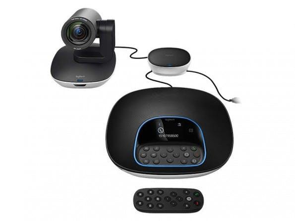 Logitech Group soll Videokonferenzen mit hoher Video- und Audioqualität ermöglichen. (Bild: Logitech)