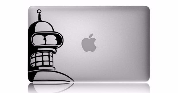 MacBook-Sticker: 35 Design-Aufkleber für euren Apple-Laptop [Bildergalerie]