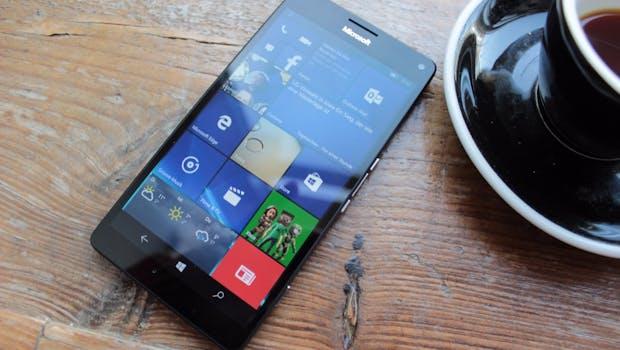 Das Microsoft Lumia 950 mit Windows 10 Mobile konnte nicht überzeugen. (Foto: t3n)