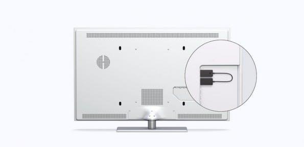 Microsoft: Der Wireless-Display-Adapter bringt Inhalte drahtlos auf Fernseher und Beamer. (Grafik: Microsoft)
