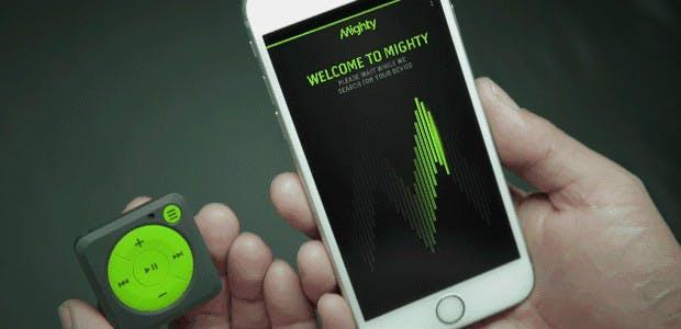 iPod-Klon Mighty: Spotify unterwegs auch ohne WLAN und Smartphone hören