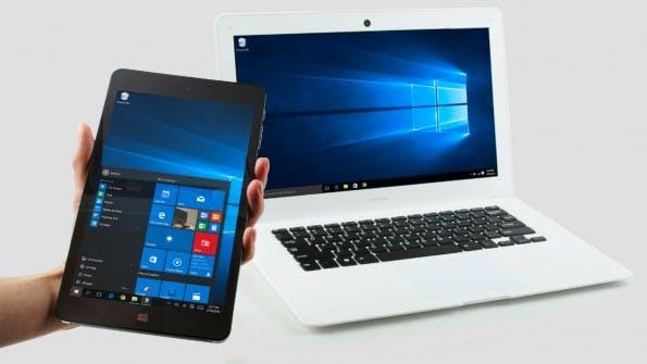 NexDock soll Smartphones, Tablets oder HDMI-Computer-Sticks in ein Notebook verwandeln. (Grafik: NexDock)