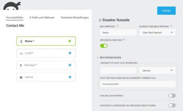 Formular Plugins Für Wordpress 8 Lösungen Kurz Vorgestellt T3n