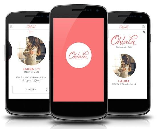 So sieht die Web-App von Ohlala aus. (BIld: Ohlala)