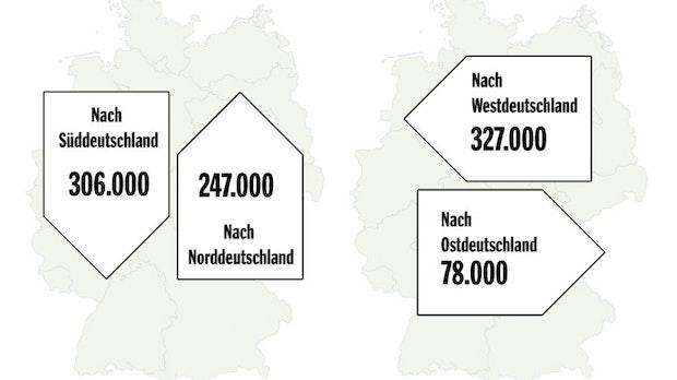 Arbeiten und Wohnen in verschiedenen Städten: So pendelt Deutschland