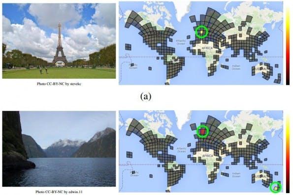 PlaNet: Ortserkennung ohne Metadaten. (Screenshot: Tobias Weyand, Ilya Kostrikov, James Philbin)