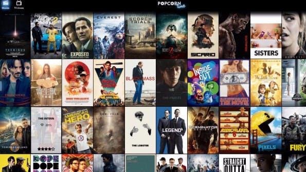 Popcorn Time Online verlangt für die Nutzung das Browser-Plugin Torrents Time. (Bild: Screenshot)