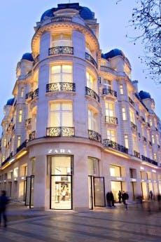 Ein Zara-Store in Paris. (Foto: Zara)