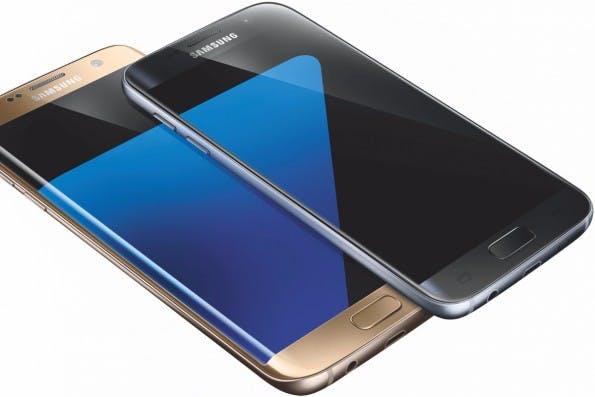 Die beiden neuen Samsung-Flaggshciffe sollen ab etwa Mitte März im Handel sein. (Bild: Samsung)