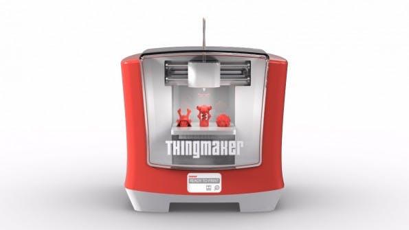 Der ThingMaker ist ein 3D-Drucker für Kids ab 13 Jahren. (Grafik: Mattel)