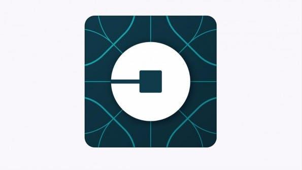 Uber verabschiedet sich mit dem neuen Logo vom starren Schwarz-Weiß-Look. (Bild: Uber)