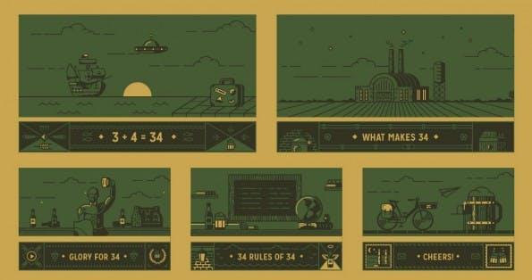 Bei einigen Websites lädt die Navigation zum Spielen und Ausprobieren ein. (Screenshot: 34)