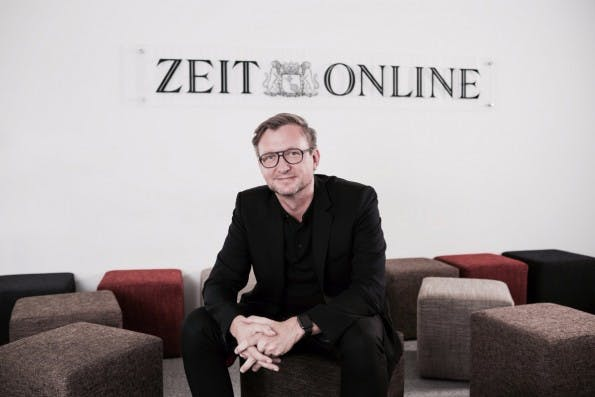 Im Gegensatz zu vielen Angeboten wächst die Homepage bei Zeit Online, sagt Jochen Wegner. (Foto: Zeit Online)