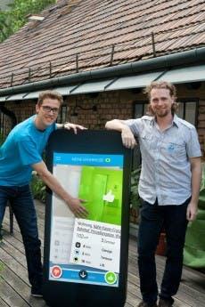 Die zoomsquare-Gründer Andreas Langegger und Christoph Richter. (Foto: Presse)