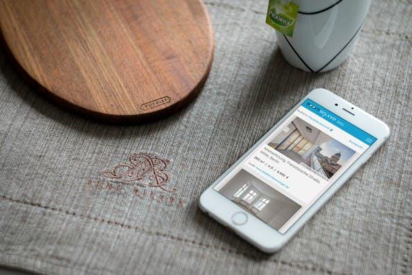 Mit der Tinder-ähnlichen App soll das Suchen von Wohnungen noch mal bequemer werden. (Foto: Presse)