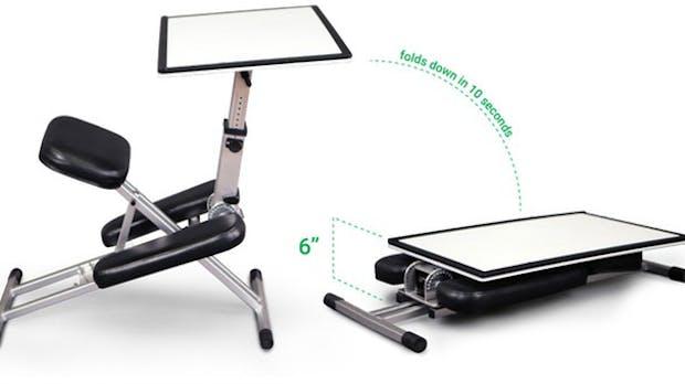 The Edge: An diesem Schreibtisch hockst du, aber mit geradem Rücken