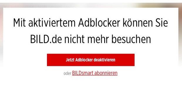 Wasser predigen und Wein trinken? Axel-Springer-Verlag investiert in Adblocker-Startup