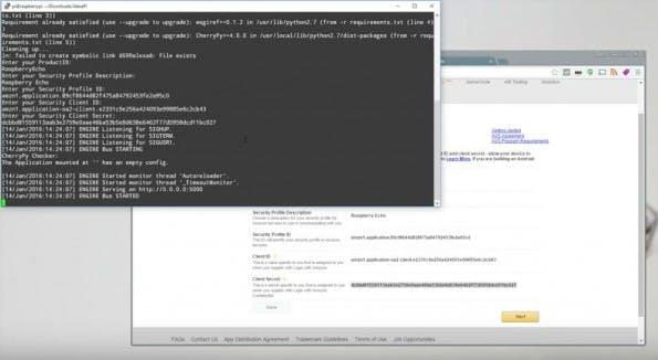 Code-Anleitung: Raspberry Pi ersetzt Amazon Echo. (Screenshot: YouTube/Novaspirit Tech)