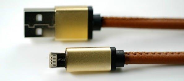 Hybrid-Kabel: Lightning- und Micro-USB-Stecker in einem. (Foto: Kickstarter/LMCable)