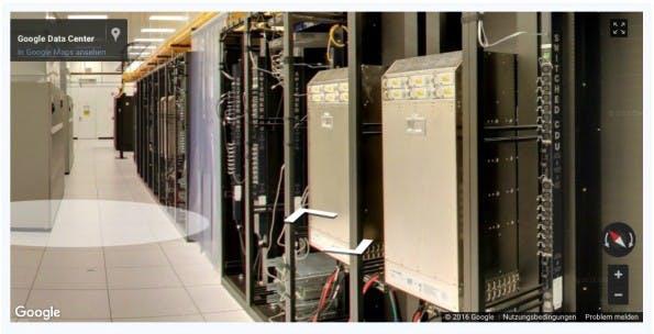 Open Compute Project: Google ist mit dabei. (Bild: Google)