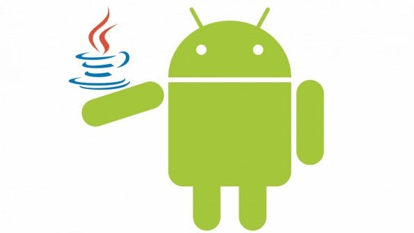 Android mit Java. (Bild: Google, Oracle)