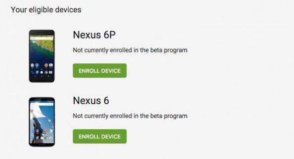Das Beta-Programm erleichtert die Installation der Vorab-Android-Version ungemein. (Screenshot: Google)