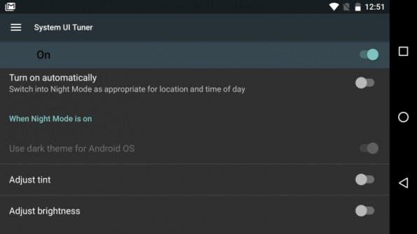 """Google führt mit Android """"N"""" einen Nachtmodus ein. (Bild: Android Police)"""