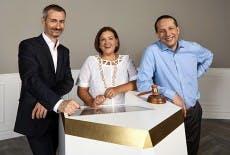 Die Auctionata-Gründer Georg Untersalmberger (l.), Susanne und Alexander Zacke. (Foto: Auctionata)