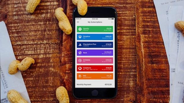 Laufende Kosten zu hoch? Diese App zeigt dir, wie viel Kohle du für digitale Abos ausgibst