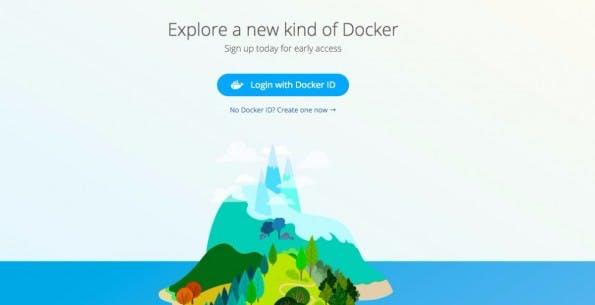 Invite-only: Das neue Docker-Tool steht aktuell nur einer kleinen Gruppe zur Verfügung. (Screenshot: Docker)