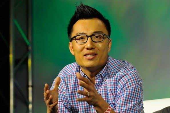 DoorDash-Gründer Tony Xu. #FLICKR#