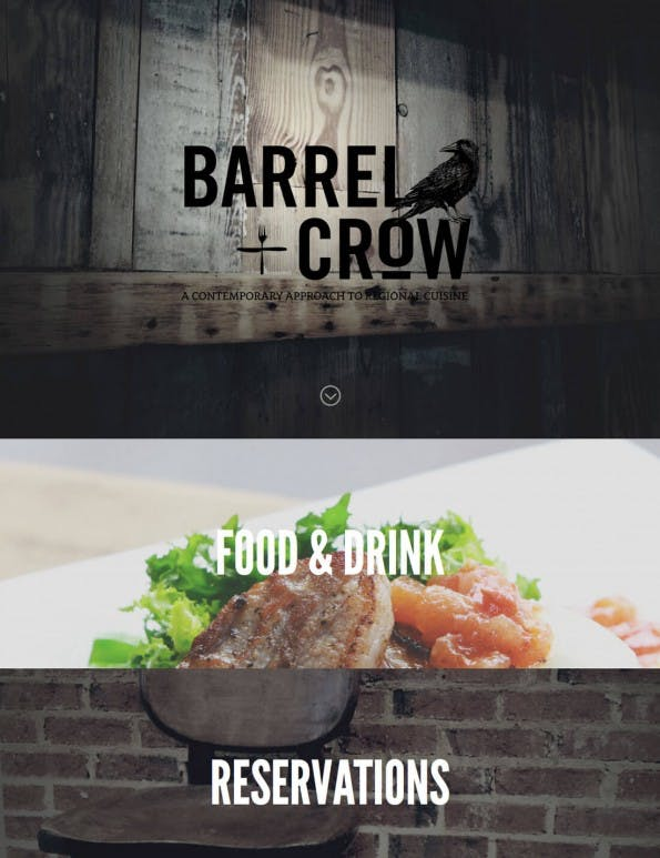 (Screenshot: barrelandcrow.com)