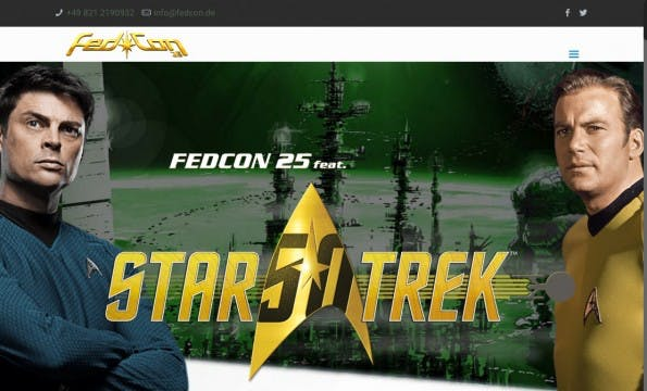(Screenshot: Fedcon.de)