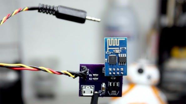 Mithilfe eines ESP8266 lassen sich viele Kameras fernsteuern. (Foto: hackaday.io)