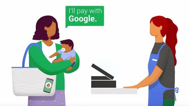 """""""Hands Free"""": Mit Googles neuer Payment-App könnt ihr das Smartphone stecken lassen"""